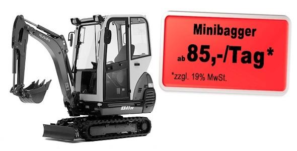 Minibagger